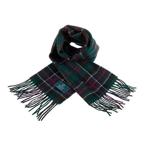 Scottish Pure Lambswool Tartan Clan Scarf In Various Colours