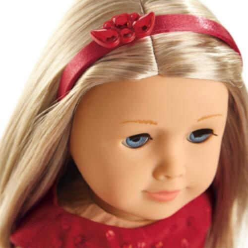 American Girl Doll Truly Me Joyful Jewels Holiday Outfit Red Fancy Dress Shoes