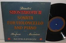 LPM 304 Shostakovch Sonata For Cello And Piano Daniyil Shafran & Nina Musinian