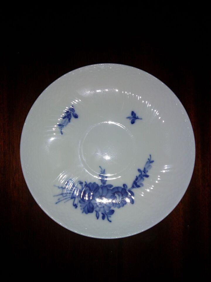 Porcelæn, Bouillonkop, Blå Blomst Royal Copenhagen