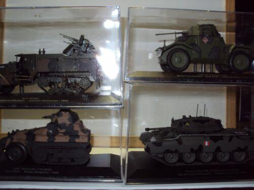 9 X grande del ejército de vehículos militares tanque de la segunda guerra mundial Inc automóvil blindado medio pista camiones