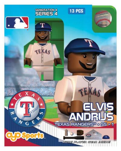 Elvis Andrus OYO Texas Rangers MLB Figure G4