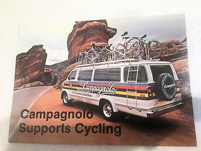 ~ Rare Vintage NOS Campagnolo USCF 81-84 National Cycling Team Postcard ~