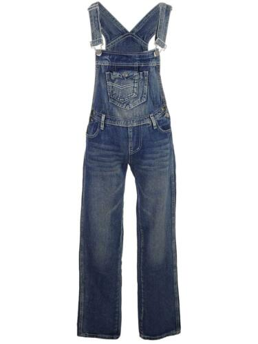 Leg Pocket Bib Wash Denim Overalls Vintage Straight Kvinders kaci With Anna tvwXzz