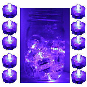 PURPLE-10-LED-Submersible-Waterproof-Wedding-Floral-Decoration-Tea-Vase-light