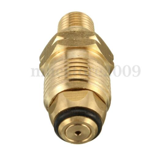 1//4/'/' 6mm MNPT Propane LP Gas Cylinder Fitting Full Flow POL Quick Connector  !
