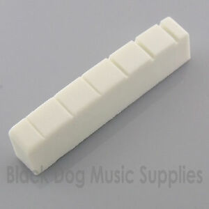 Graphite-six-string-left-handed-guitar-top-nut-42x6mm-White-Black-or-Ivory