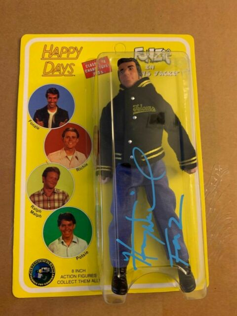 Happy Days Series 4 Fonzie in Falcons Jacket Action Figures Classic TV Toys