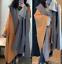 Zara-Oversized-Poncho-Cape-Hood-Size-Small thumbnail 1