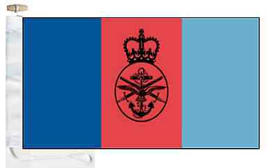 Joint Toggled Forces Flag amp; Armed Service British Roped Boat Courtesy q6F7nwE