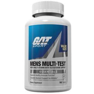 GAT-Mens-MULTI-TEST-Multivitamin-amp-Testosterone-Booster-150-Tablets-VALUE-SIZE