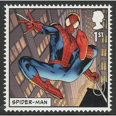 UK MARVEL Spider-man single (1 stamp) MNH 2019 after March 31