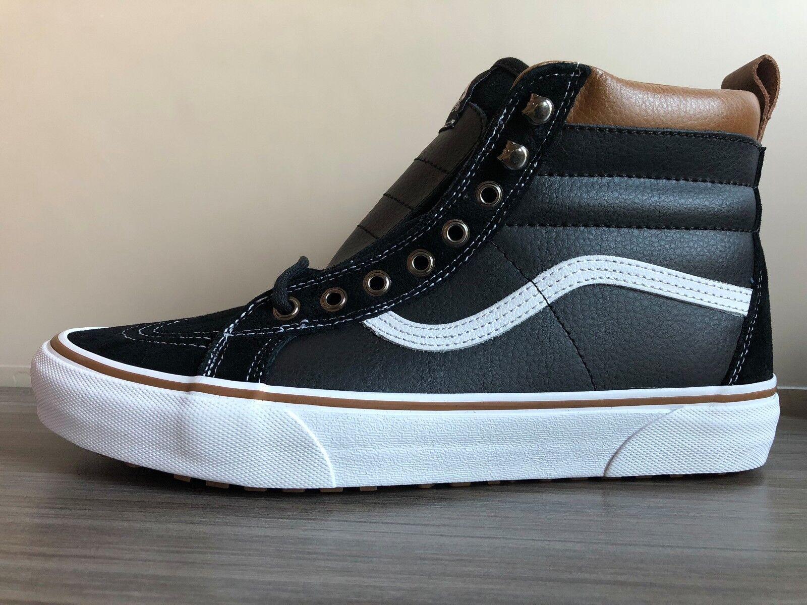 les hommes sk8-hi  mte chaussures taille 9 90  sk8-hi Noir  6e5e5b
