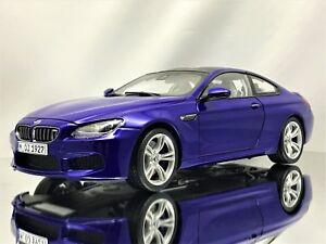 BMW 6er F13 M6 Coupe Frozen Matt Bronze Ab 2011 1//18 Paragon Jadi Modell Auto mi