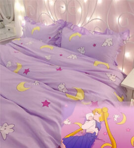 Image Is Loading Anime Sailor Moon Cute Bedding Home Decor Cotton