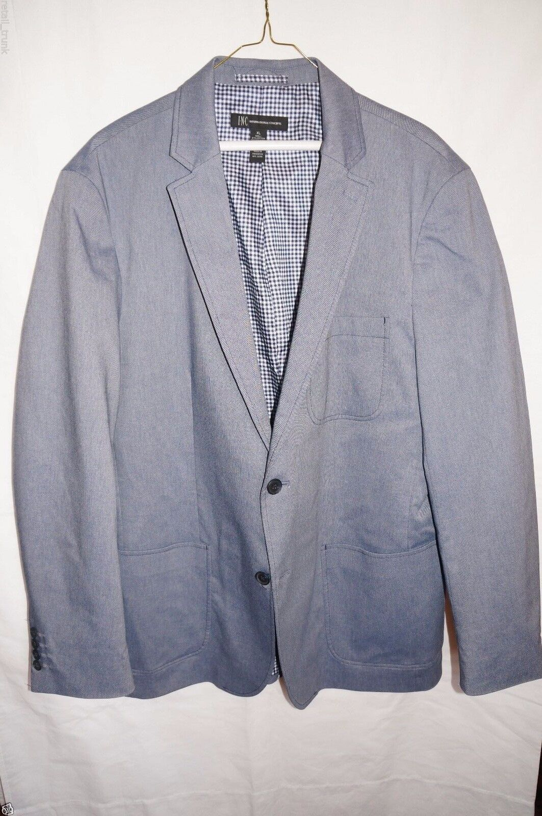 INC  International Concepts Sports Coat, Grau, XL