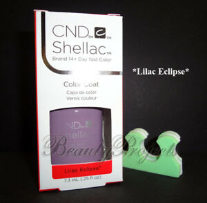 CND-Shellac-Lilac-Eclipse-LED-UV-Gel-Polish-25oz-New-With-Box-BONUS-ITEM