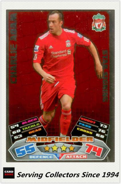 2011-12 Topps Match Attax English Soccer Star Signing Foil No139 Charlie Adam