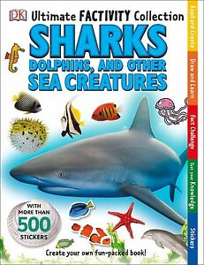 Ultimate-Factivity-Collection-Sharks-DK-500-Stickers-Create-Learn-Draw-Fun
