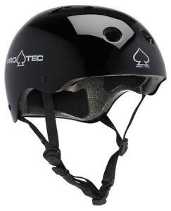 Protec Classic Bike Certified Helmet Gloss Black Extra Small Pro-Tec