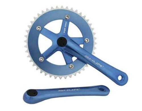 Vélo Pignon fixe Crank Set Alliage Set 44 T 170 mm