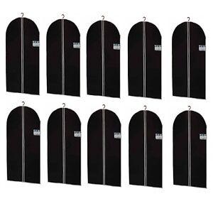 10 x Housse à vêtements xxl robes Housse Housse de protection vêtements vêtements sacs 150 x 60cm  </span>