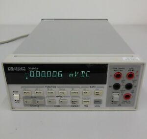 HP-34401A-multimeter