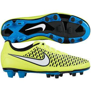 43b3e02b2 NEW Nike 658570-700 Magista Neon Yellow Blue Soccer Cleats Women s ...