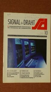 Signal Draht, 10/94, DCF77, LZB L72, DataRail, SPK 10-10, ISDN Siemens, TAIKA - Dürrhennersdorf, Deutschland - Signal Draht, 10/94, DCF77, LZB L72, DataRail, SPK 10-10, ISDN Siemens, TAIKA - Dürrhennersdorf, Deutschland
