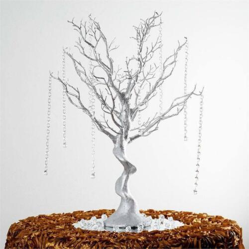 "30/"" Glittered Manzanita Centerpiece Tree For Wedding Event Tabletop Decorations"