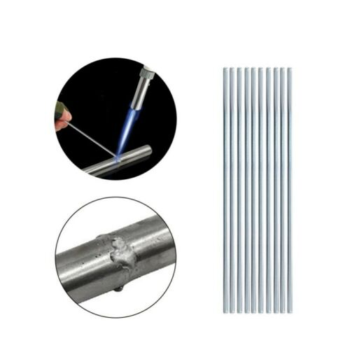 Aluminium Welding Brazing Soldering Low Temp Durafix Easyweld Rods+Brush Set