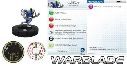 WARBLADE #043 #43 Batman DC HeroClix Rare