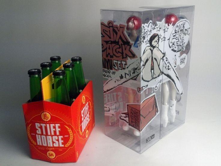 producto de calidad ThreeA - 3AA versión CNY borracho Miyu 1 1 1 6 [con 6 Paquete de bebidas] Ashley Wood-Nuevo  mejor moda