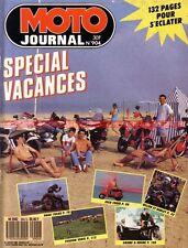 MOTO JOURNAL 904 Gnome & Rhone KAWASAKI KR1 250 ZX-10 1000 VESPA SUZUKI RM 1989