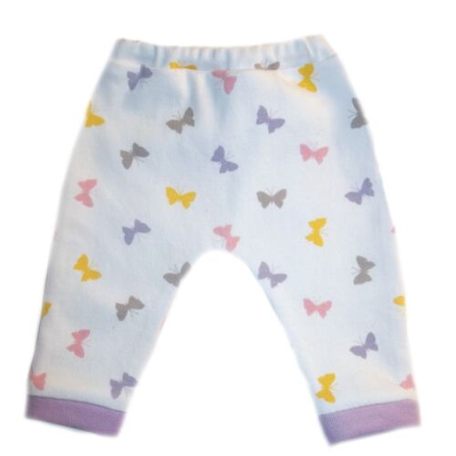 4 Sizes for Preemie and Newborn Infants Baby Girls Beautiful Butterflies Pants