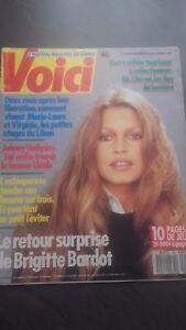 Brigitte Bardot Revista Hier El Retorno Sorpresa De B.B N º 66 1989