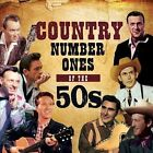 Country Number Ones of The 50s 0824046903428 by Various Artists CD