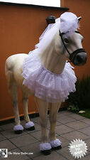 Bride Costume for horses Ready to Ship (Standard 70 to 80)
