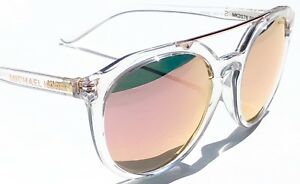 30f8cc796 NEW* MICHAEL KORS MK2076 CAPE MAY CLEAR frame Rose Gold Lens women's ...