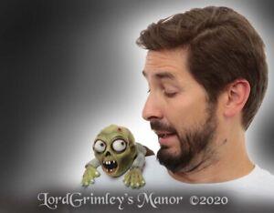 Novo 2020 Zumbi Ombro Buddies Fantasia De Halloween Acessorio De Horror Mortos Vivos Pet Assombram Ebay