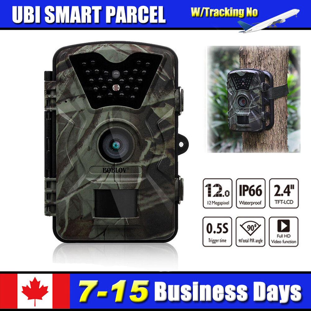 12MP 1080P Hunting Trail Game Wildlife Scouting Camera W PIR Sensor Voice Record