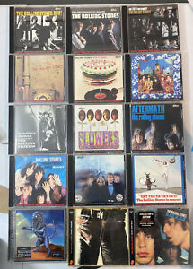 15 1986 The Rolling Stones Abkco & Virgin Digitally Remastered CD COLLECTION