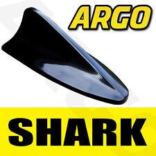 Negro aleta de tiburón ficticia imitación réplica aérea Decorativo Spoiler Antena