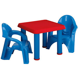 Kids table and chair set furniture children play set toddler indoor