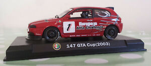 Alfa Romeo 147 car in Red GTA Cup 2003  Product in 1:43rd Scale Alfa Collection