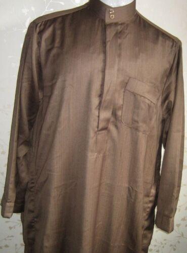 formale colore thobe estate Abito Caftano paintbal arabo uomo Costume Vestaglia