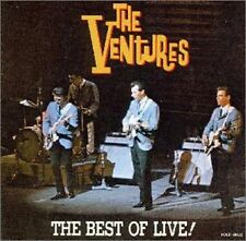 CD THE VENTURES - THE BEST OF LIVE ! / near mint