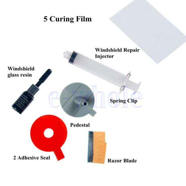Windscreen Windshield Repair Tool DIY Car Auto Kit Glass For Chip & Crack HM