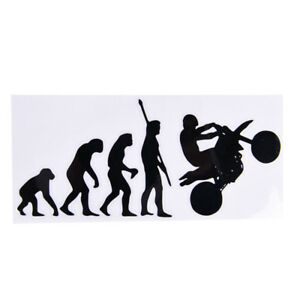 Human-Evolution-Motorcycle-Car-Stickers-Personalized-Vinyl-Reflective-Decalsfj