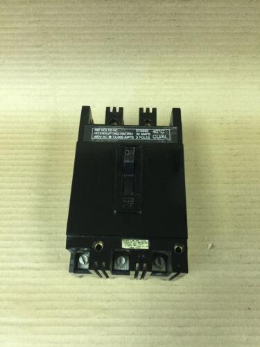Westinghouse EH EH3030 3 Pole 30 amp Circuit Breaker flawed